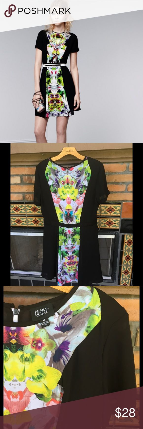 🌺GET YOUR SUMMER ON PRABAL GURUNG FIGURE FLATTER ALMOST NEW CHIC SUMMER FLORAL DRESS BY FAMED DESIGNER PRABEL GURUNG FOR TARGET.  VERY FIGURE FLATTERING ANLD UBER COMFORTABLE. Dresses