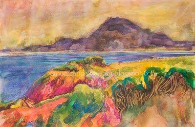 Author : Anónimo de la Piedra.El Atlas Marroquí desde Tarifa. Cádiz. Spain http://anonimodelapiedra.blogspot.com.es/
