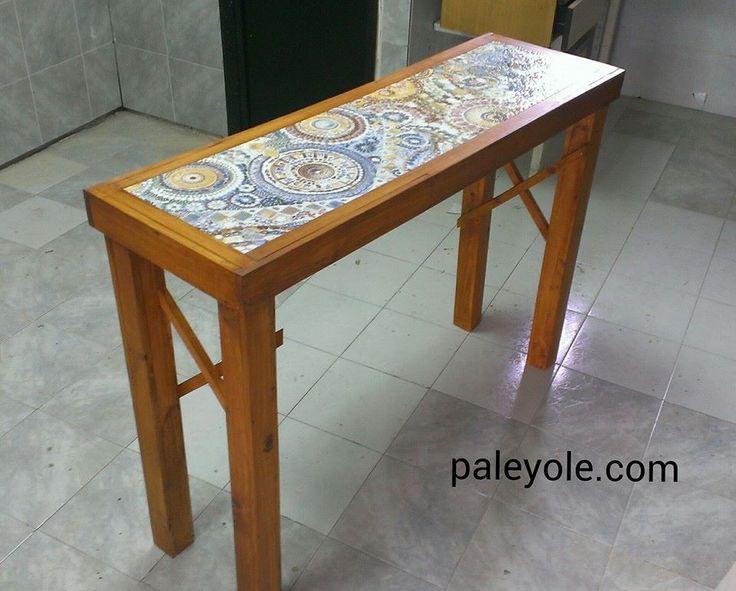 15 best mesas de palets images on pinterest mesas centre and facts - Mesas de pale ...