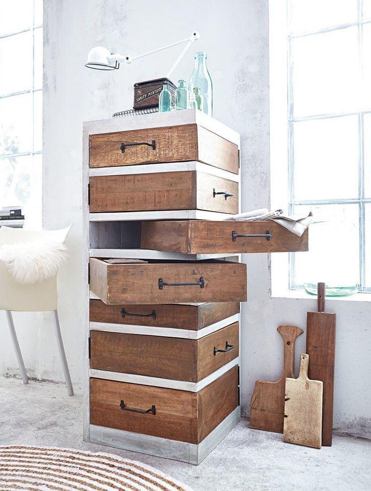 Schubladenschrank (Woodworking Shelves)