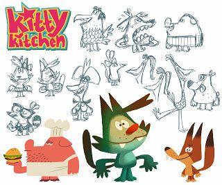 Razmig Mavlian:  KITTY KITCHEN - Character DesignsI was planning o...