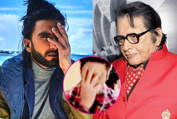 Just like Shah Rukh Khan, Ranveer Singh imitates Manoj Kumar, but the senior actor is not offended this time #FansnStars