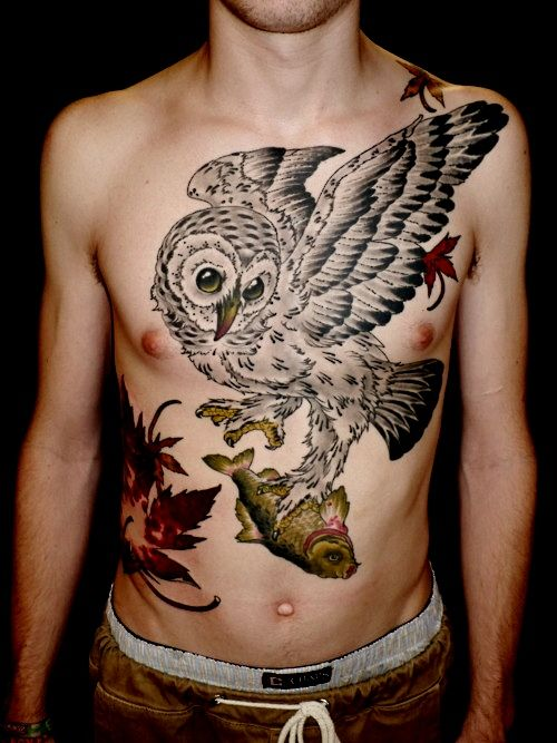 17 best images about chest piece tattoos on pinterest for Chest piece tattoos female