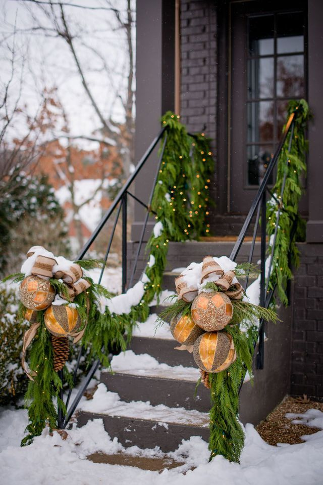 Christmas decoration outdoor spotted on Pinterest