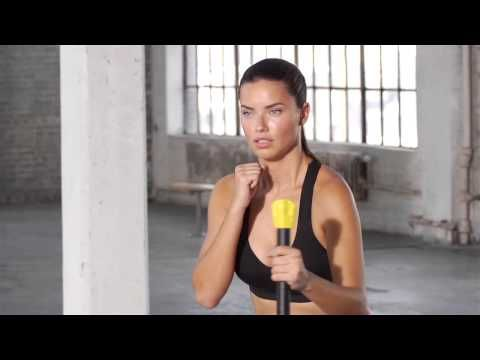 Train Like An Angel 2014: Adriana Lima Full-Body Workout with trainer Michael Olajide, Jr. | Victoria's Secret Sport