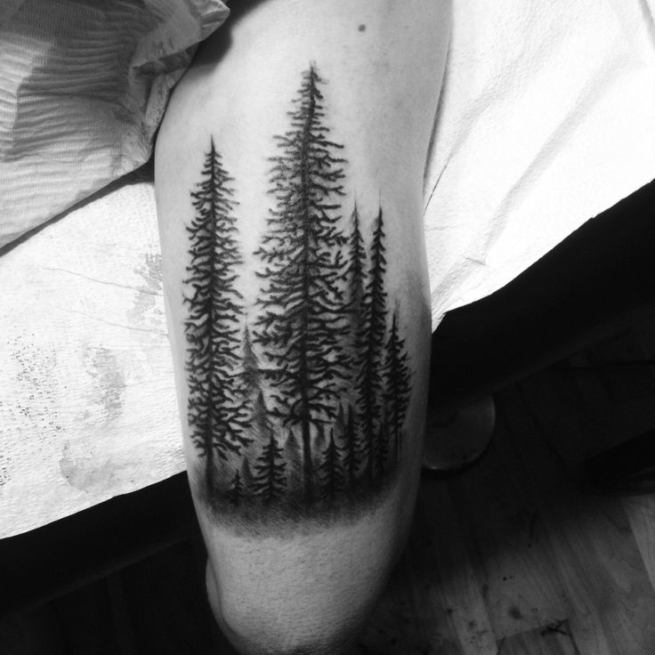 forest tattoo designs - Google Search