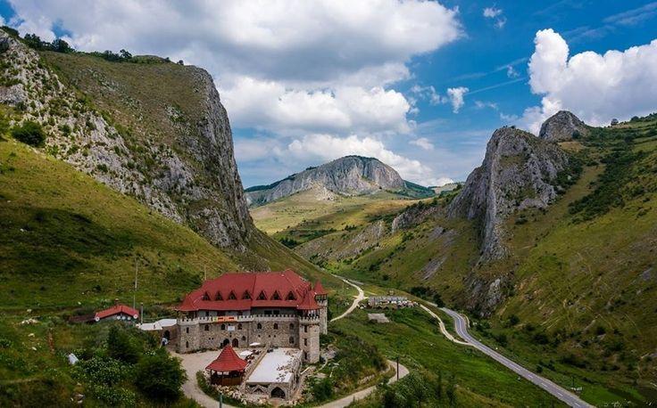 Cheile Vălișoarei (Cheile Aiudului), Munții Trascăului, Alba