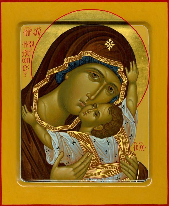 Кардиотисса (Сердечная) икона Божией Матери
