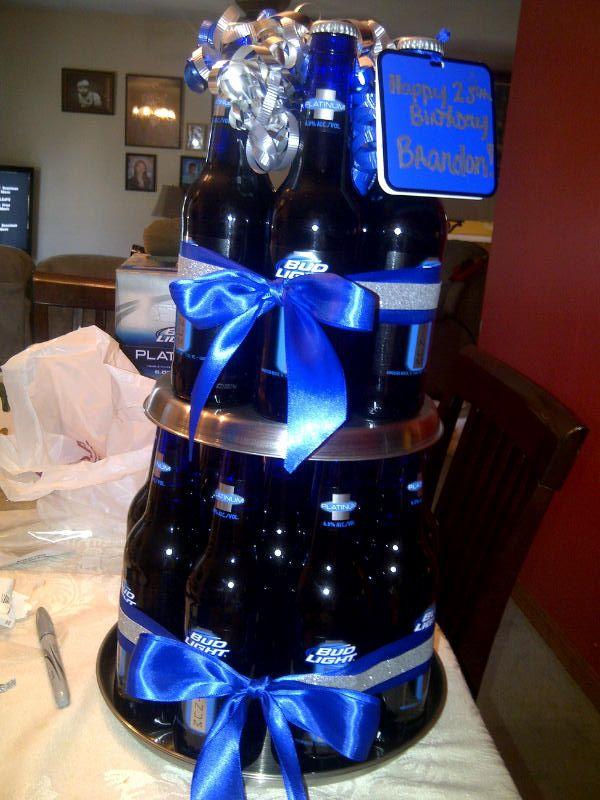Bud Light Platinum Beer Cake Alcohol Drinks Bottle