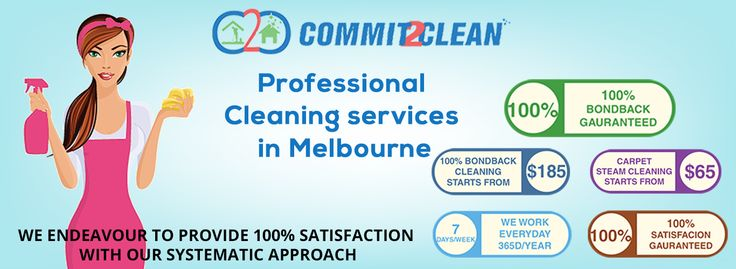 Commit 2 clean cater professional cleaning services for carpet steam cleaning, upholstery cleaning, 100% bond back cleaning, End of lease cleaning, move in/out cleaning, builders clean, construction site cleaning, regular office cleaning and same day cleaning service across the various suburbs in ‪#‎Melbourne‬. ‪#‎cleaningservice
