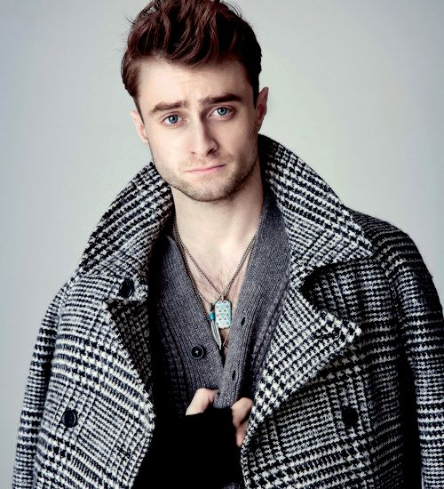 Daniel Radcliffe photographed by Tatijana Shoan for As If Magazine