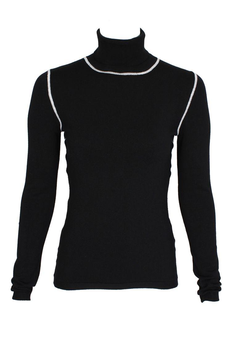 #pianurastudio #pianura #greenbird #marinamall #abudhabi #abudhabifashion #abudhabistyle #dubai #dubaifashion #dubaistyle #fashionista #womenswear #eveningwear #casualwear #fall2013 #winter2014 #turtleneck #black #blackturtleneck #seam