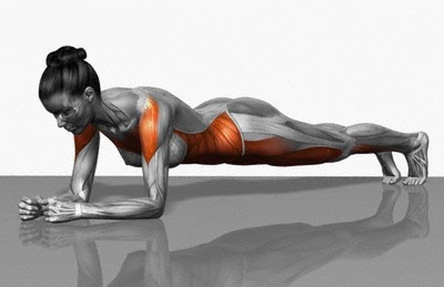 Quer ser mais eficiente na corrida?  Treine a região do core (abdome + lombar)!   Esses músculos são os que controlam toda a parte superior do corpo e dão a estabilidade necessária para braços e pernas se moverem corretamente!  Um exercício para isso é a prancha (foto) - que pega toda a região do abdome!