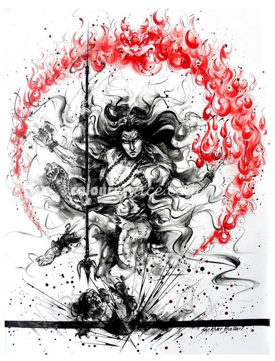Image result for abstract nataraja