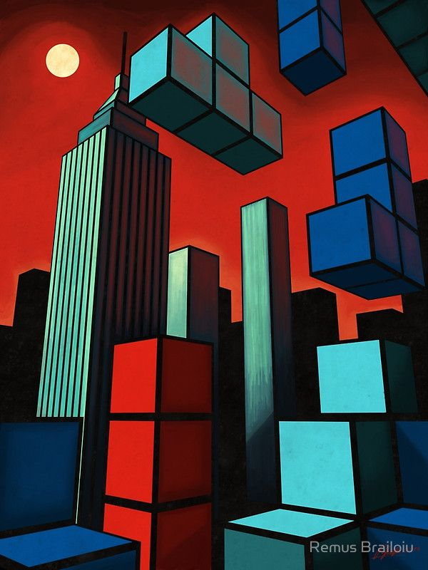 """Tetroid Apocalypse"" Photographic Prints by Remus Brailoiu 