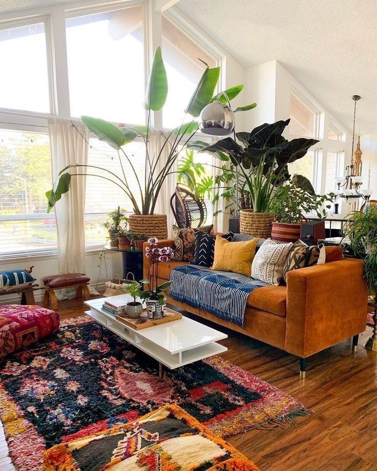 43 Wonderful Bohemian Style Ideas For Living Room Bohemian Living Room Decor Bohemian Living Room Eclectic Living Room