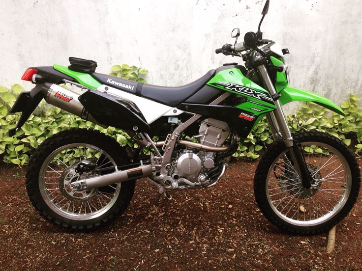 2016 Kawasaki KLX 250 With Aftermarket Exhaust