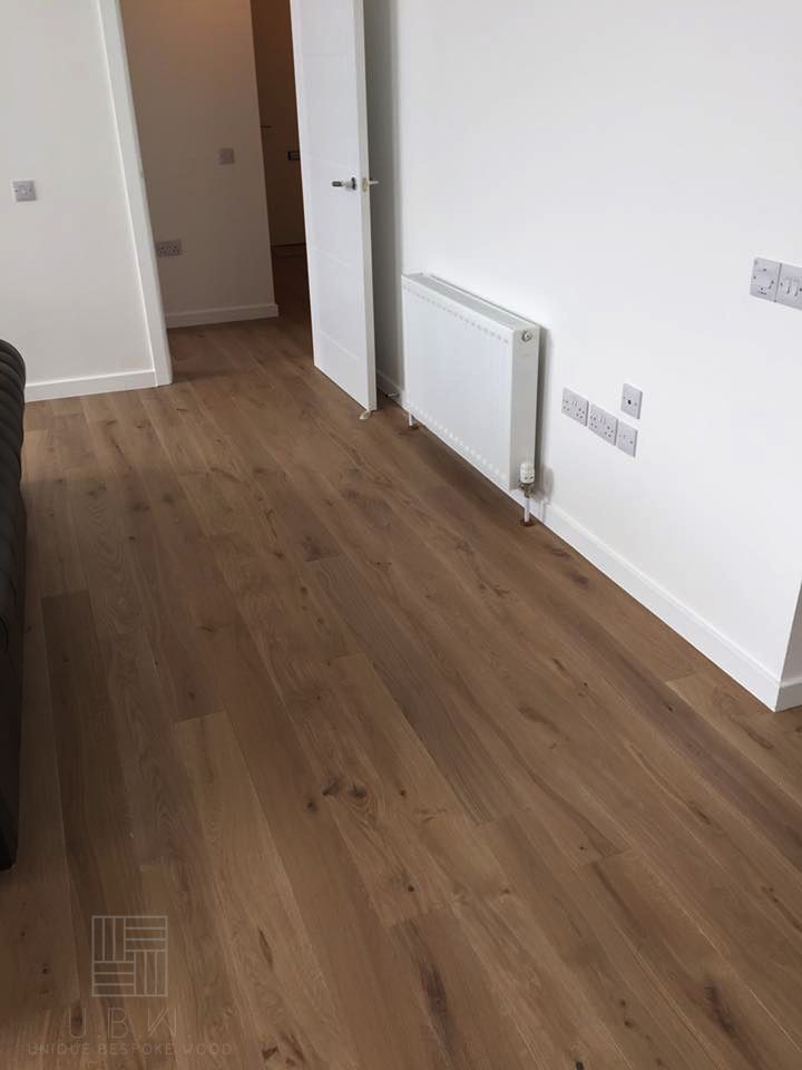 Our Beautiful Hand Finished Engineered Oak Flooring Is One Of Our