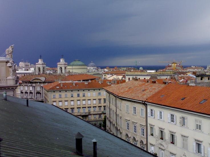 vista dai tetti