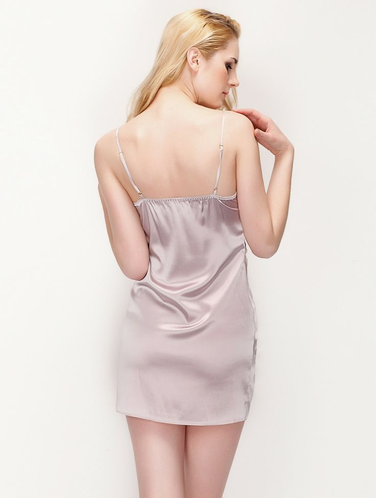 Fitted Drooped Slip with Speical Pleats,$98.98