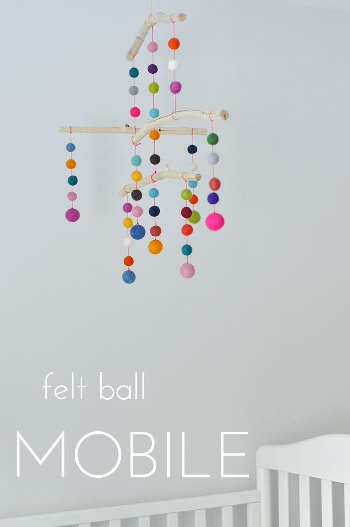 I had visions of this mobile dancing above Ollie's crib when he wasn't yet born, and well into his second year, I finally got...