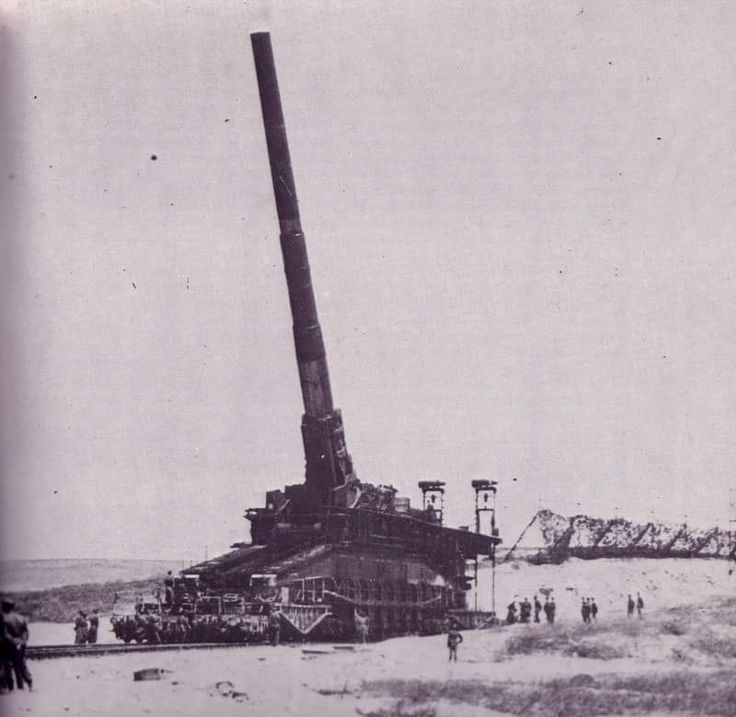 Crimea summer 1942.80cm railway gun schwerer Gustav. Source:stukablr #Railgun