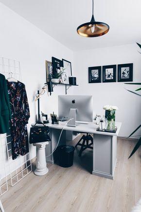 Wunderbar Arbeitsplatz Zuhause Einrichten: 5 Ideen Für Mehr Stil Im (Blogger) Home  Office