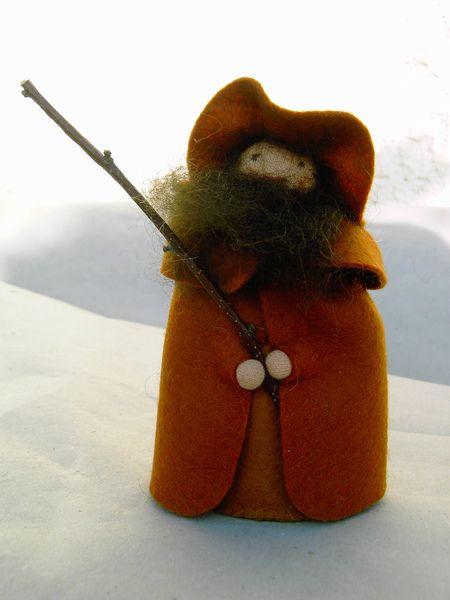 Krippenfiguren: Hirte von donnamilla auf DaWanda.com
