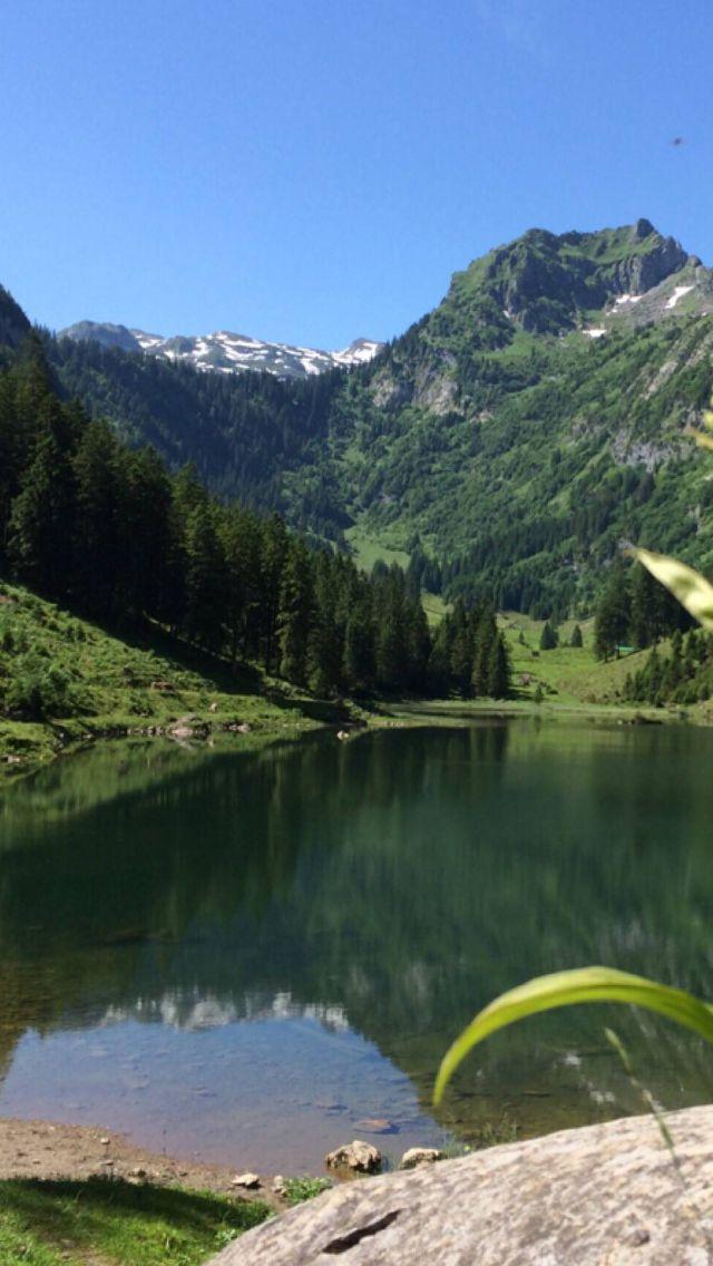 Seealpsee im Appenzellerland