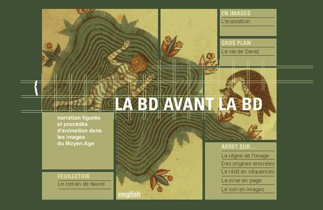 La BD avant la BD : Narration figurée et procédés d'animation dans les images du Moyen-Age.