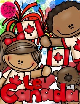Explore Canada ~ Le Canada! French Mini Unit for researching Canada's provinces and territories. Also includes Canada Day!