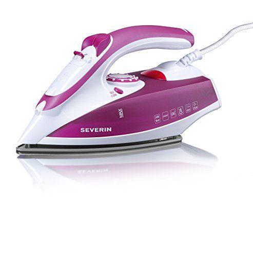 Severin – 3243 – Fer vapeur – 2400 W – 200 ml – blanc / violet