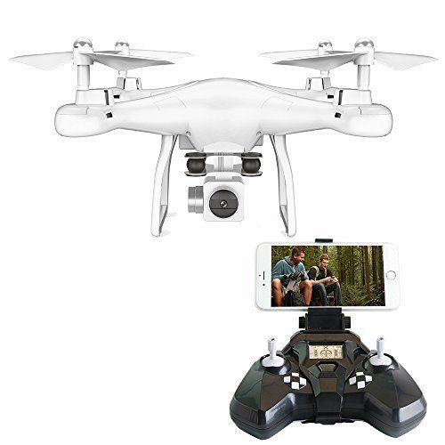 Camera Drone FPV VR Wifi RC Quadcopter 2.4GHz 6-Axis Gyro Wide Angle Lens NEW #CameraDrone