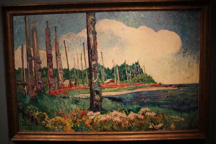 What a sight this must have been painted by Emily Carr