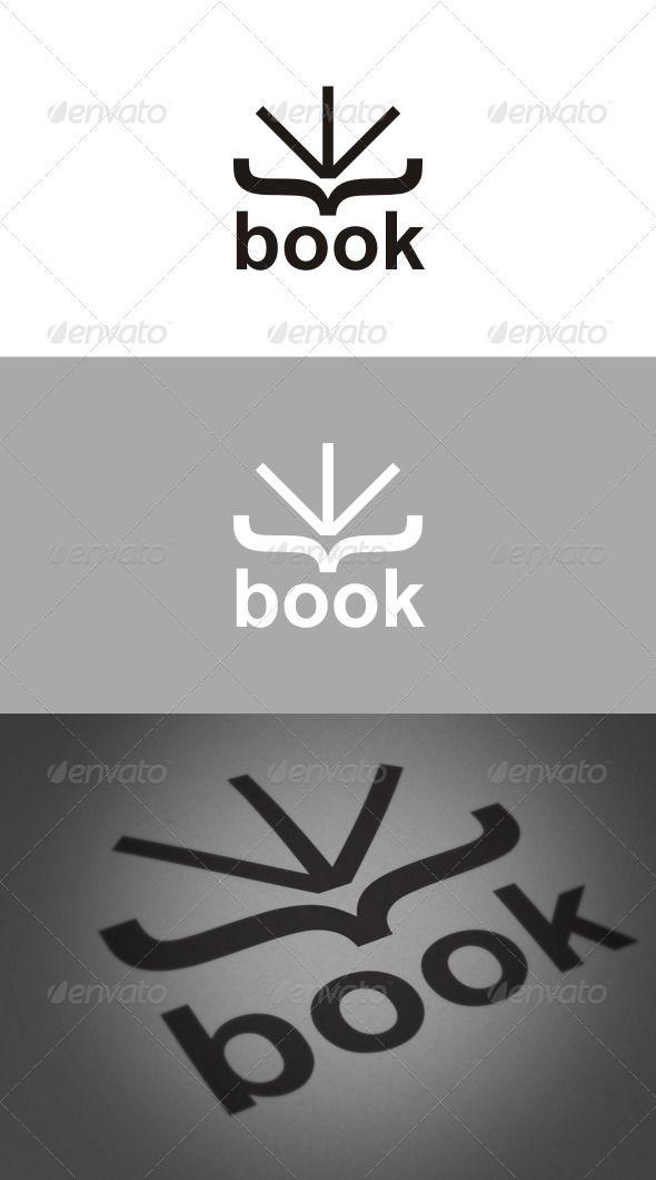 Book Logo - GraphicRiver Item for Sale
