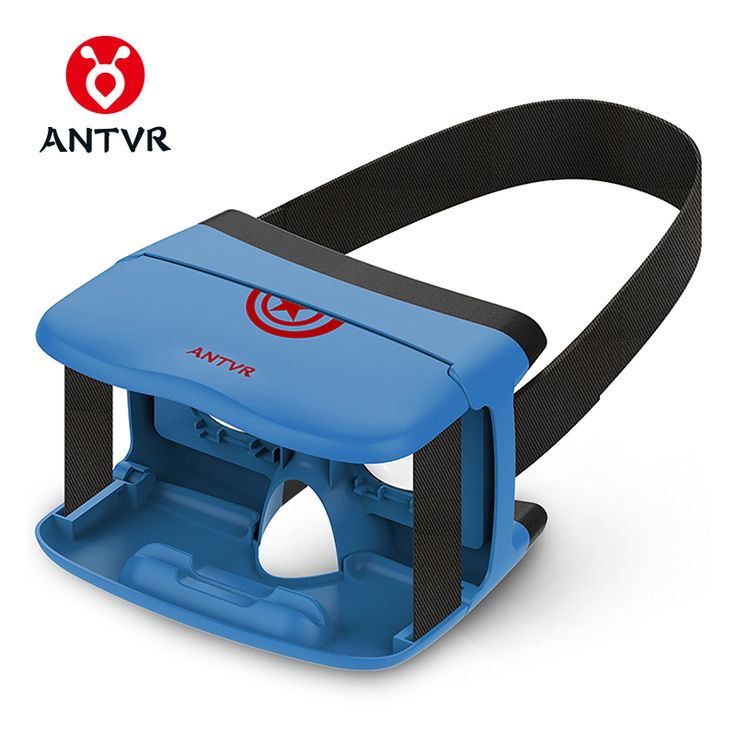 """ANTVR 3D VR BOX Folding VR Glass 3D Glasses Headset Virtual Reality HeadMount Black Light Weight Goggle Cardboard for 5""""-6"""". Yesterday's price: US $13.92 (11.31 EUR). Today's price: US $13.92 (11.31 EUR). Discount: 52%."""