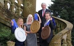 Northern Ireland businesses celebrating IIP Gold Silver and Bronze awards