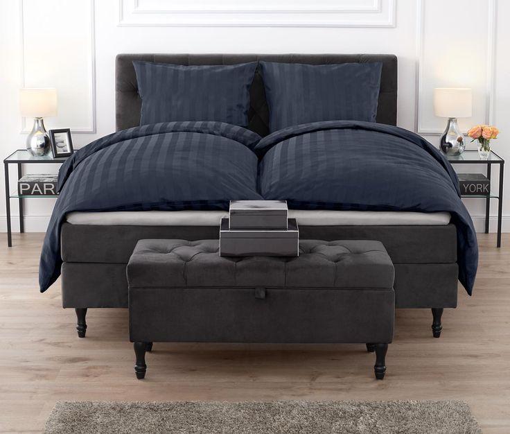 189,00 € | Diese Bettbank bietet im Schlaf- oder Gästezimmer Platz zum Sitzen – und etwa 33 Liter Stauraum für Decken, Kissen und Bettwäsche. Die aufstellbare Deckelklappe erlaubt einen bequemen Zugriff auf den Inhalt.