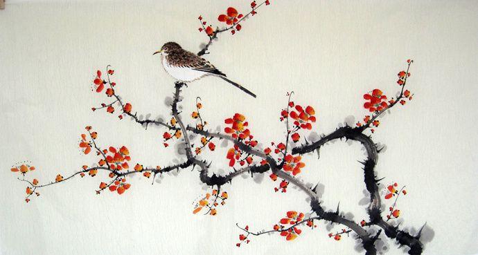 dipinti giapponesi fiori - Cerca con Google