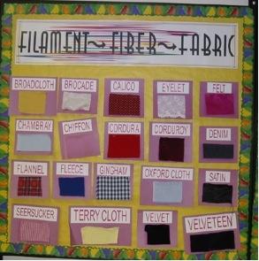 Filament Fiber Fabric Bulletin Board