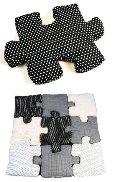 Puzzle Pillows