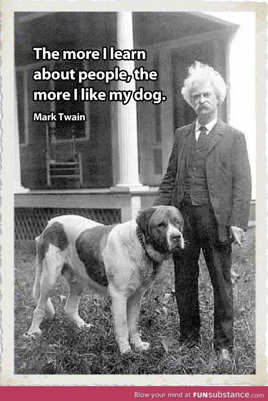 Mark Twain always gets it right