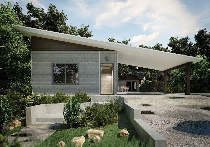 Modern exterior design - beachy ?