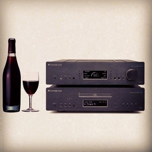 New research shows red wine improves your hearing, so drink up & enjoy listening to your hi-fi this weekend! Cheers!