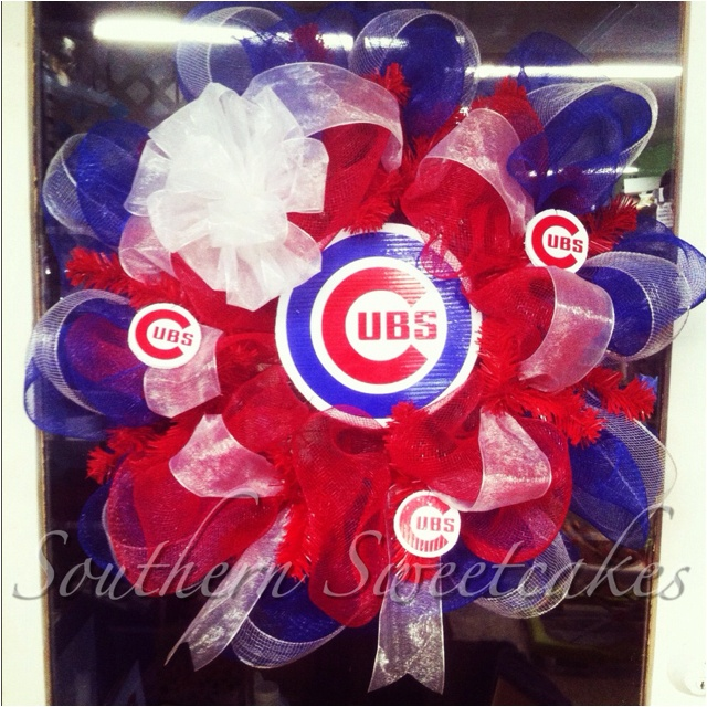 Chicago Cubs Wreath!