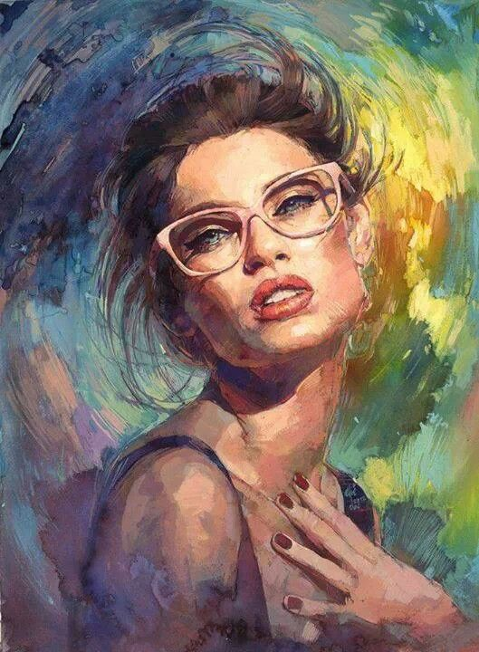 Illustration Inspiration Portrait Art Painting Drawing