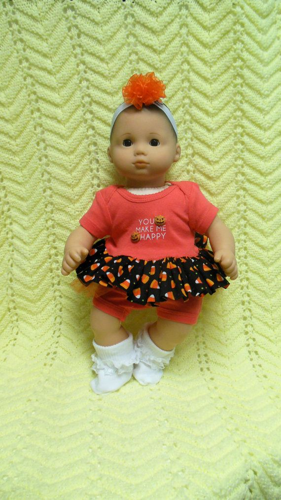 American Girl Bitty Baby Clothes Halloween Make Me By