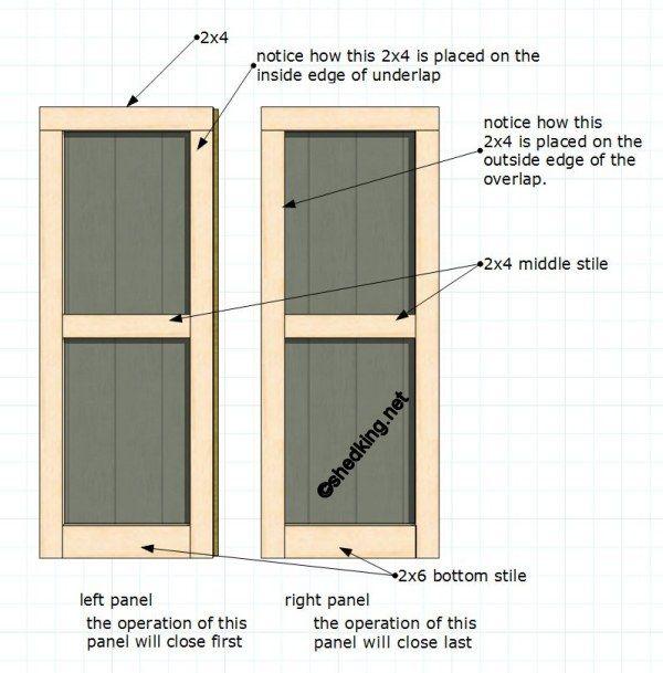 25 Best Ideas About Shed Doors On Pinterest Pallet Door