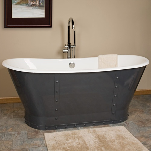 19 Best Images About Master Bath On Pinterest Cast Iron Tub One Kings Lane And Master Bath