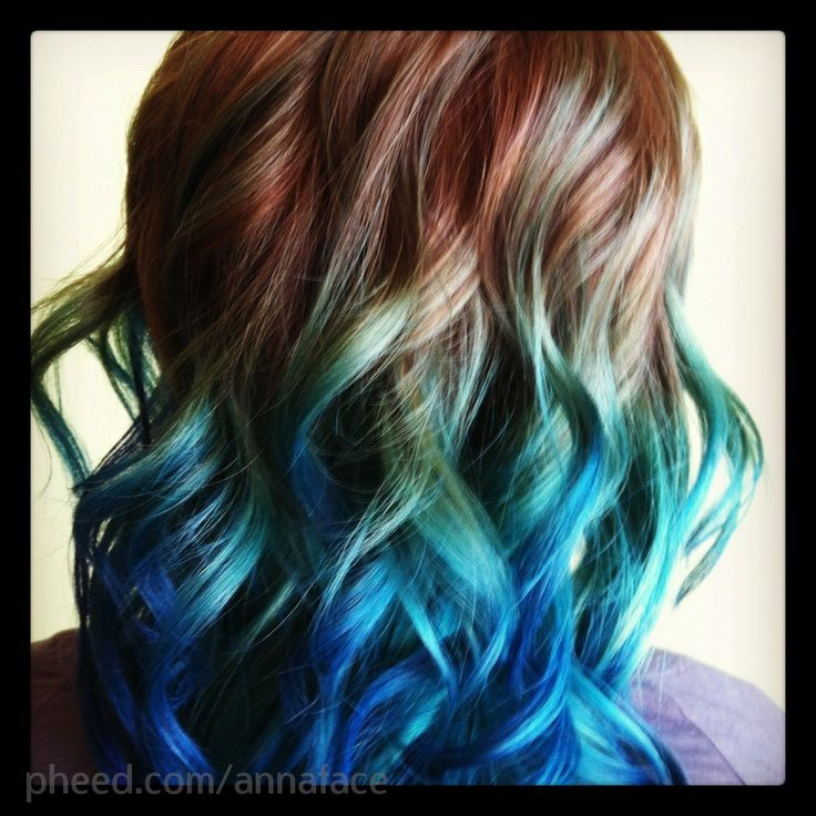 Best My Looks Ideas Images On Pinterest Beach Beauty - Peacock hairstyle color